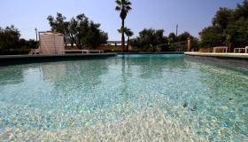 Piscina del bed and breakfast Usciglio, Salento